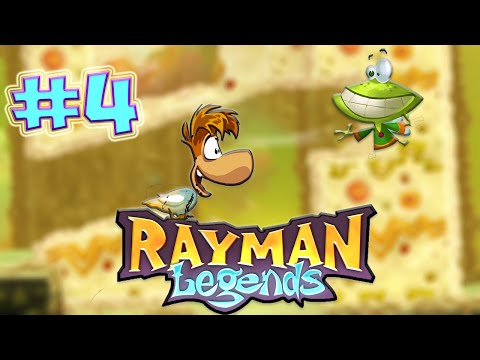 THE SPICY PARTY OF DOOM| RAYMAN LEGENDS PART 4