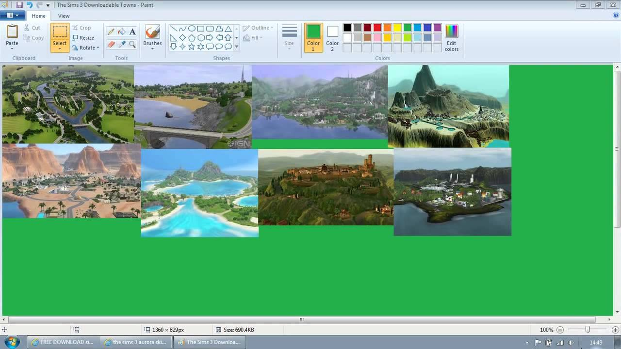 RIVERVIEW SIMS 3