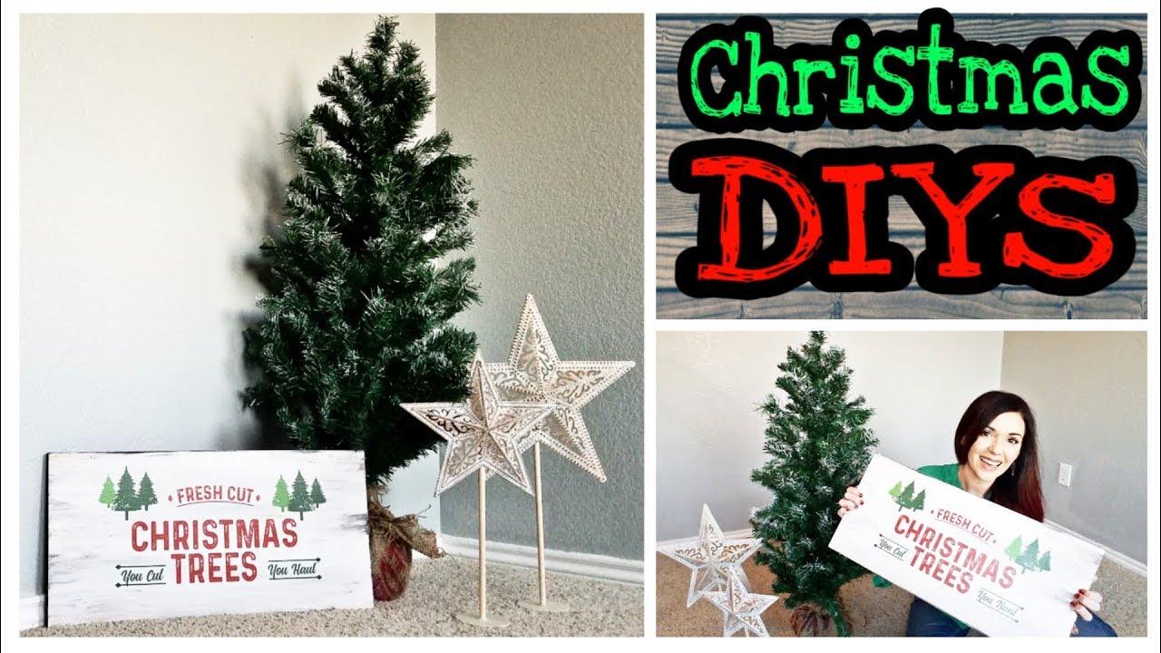 Rustic Christmas Decorations.Diy Christmas Decorations Dollar Store Rustic Christmas Diy Decorations