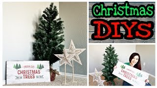 DIY Christmas Decorations Dollar Store / Rustic Christmas DIY Decorations