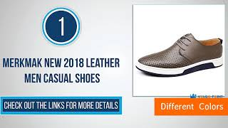 Latest Men Casual Leather Shoes (Merkmak )