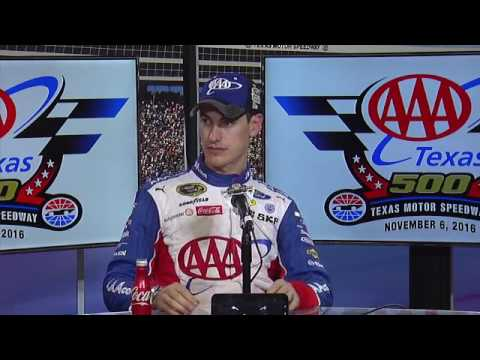 2016 NASCAR Texas Sprint Cup Post Race Q&A
