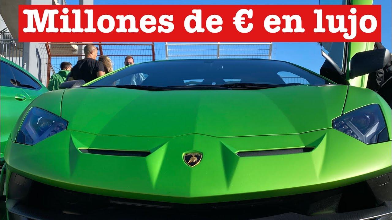 Los mejores coches de Valencia reunidos. Millones encima de la mesa