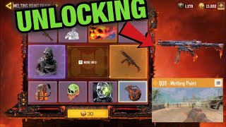 Unlocking *NEW* QQ9 Melting Point + Mace Metal Phantom | Melting Point Draw | Call of Duty Mobile