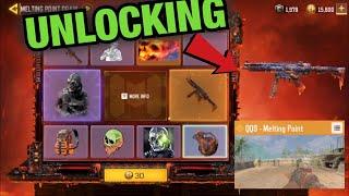 Unlocking *NEW* QQ9 Melting Point + Mace Metal Phantom | Melting Point Draw | Call of Duty Mobile