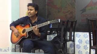 Sraboner megh gulo guitar cover