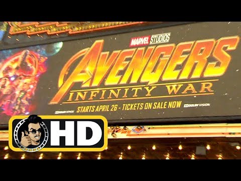 AVENGERS: INFINITY WAR Premiere B-Roll Footage (2018) Marvel Superhero Movie HD