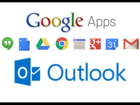 how to add google mail to outlook