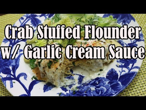 Crab Stuffed Flounder | Chef Lorious