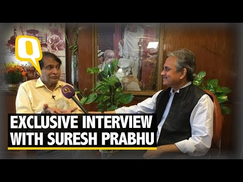 The Quint: Is Indian Railways on Track? Suresh Prabhu Talks to The Quint