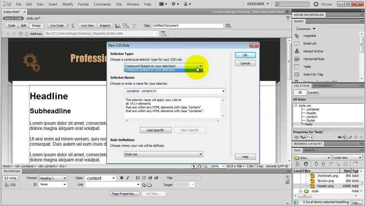 How To Make A Website In Dreamweaver Amazing Tutorial Youtube