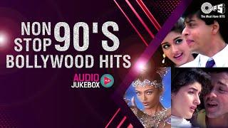 Non Stop 90's Bollywood Hits | Audio Jukebox | 90's Bollywood Jukebox | Full Songs