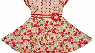 Cotton and lawn baby girls frocks designs  2018