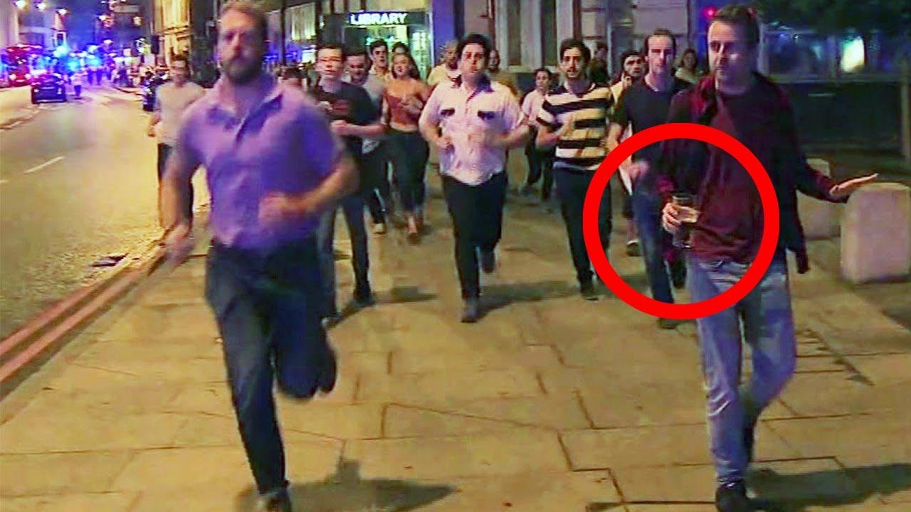 Man Flees London Bridge Terror Attack Holding A Pint Of ...