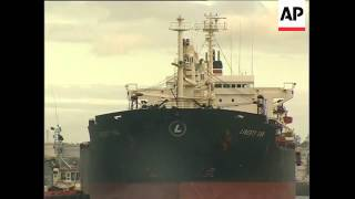 Ship that was attacked by pirates arrives in Kenya
