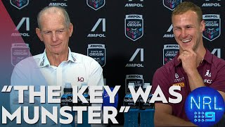 State of Origin Pressers: Wayne Bennett & Daly Cherry-Evans - Game 3 | NRL on Nine