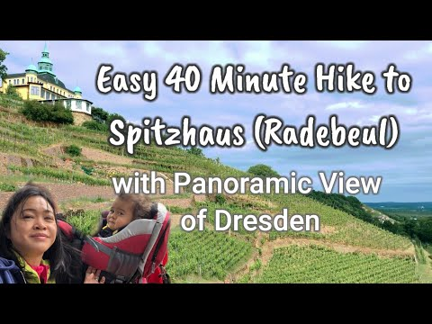Panoramic View of Dresden (Easy 40-Minute Hike to Spitzhaus/Radebeul) PINAY MOM IN GERMANY