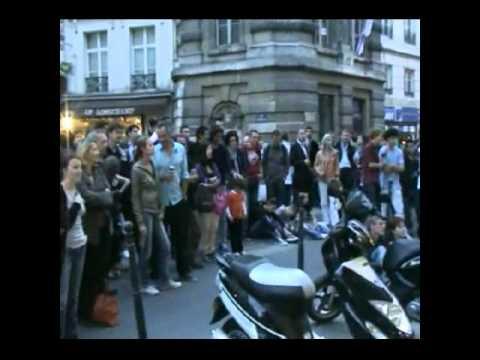 Wisp & Friends New Orleans Shuffle Paris rue St Honoré 21-06-2011