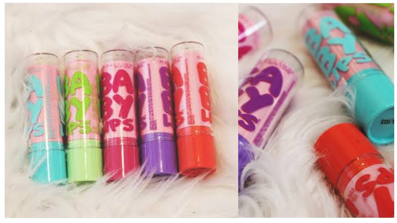 {NEW} Maybelline Baby Lips Pink'ed Collection Try On & Swatches! | thataylaa