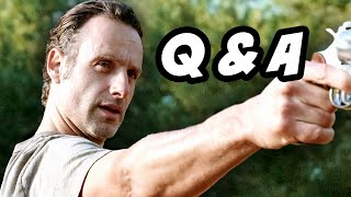 Walking Dead Season 5 Episode 12 - Alexandria Safe Zone Q&A
