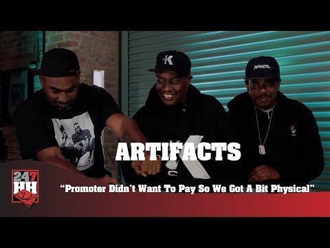 Artifacts - Promoter Didn't Want To Pay So We Got A Bit Physical (247HH Wild Tour Stories)