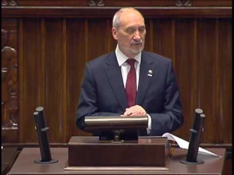 Leszek Ruszczyk, Antoni Macierewicz – pytanie z 8 czerwca 2017 r.