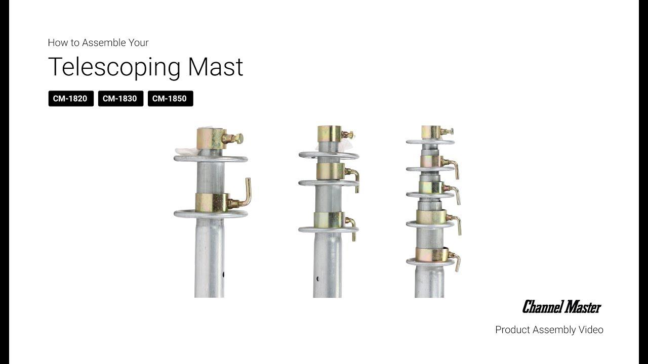 40' Telescoping Mast