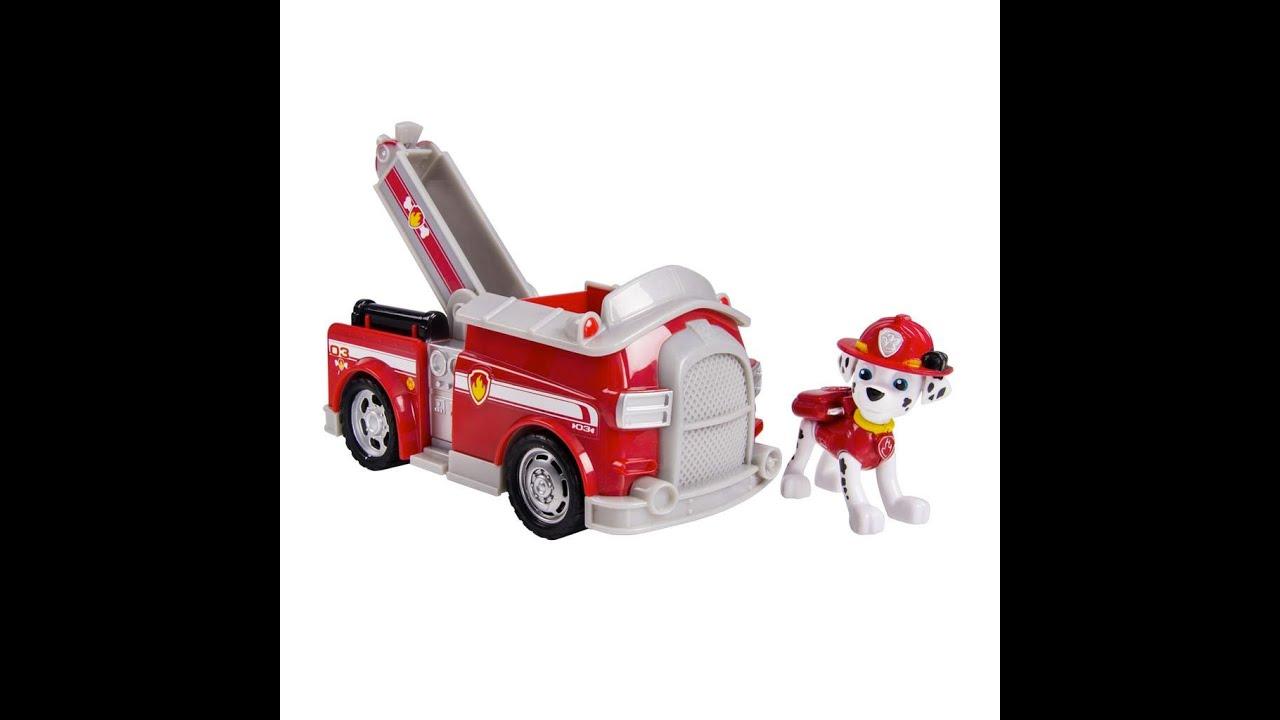 camion de pompier pat 39 patrouille marshall jouet pour les. Black Bedroom Furniture Sets. Home Design Ideas
