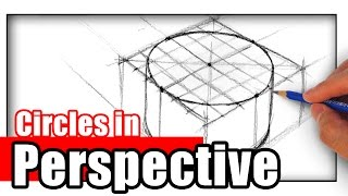How Draw Circles Perspective Beginners
