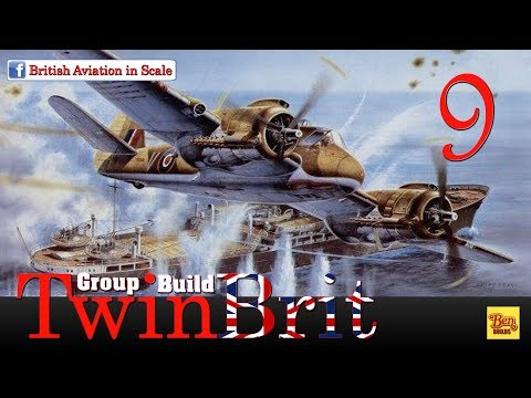 Ben Builds - TwinBrit GB - Bristol Beaufighter MkVI - Final Reveal