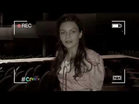 Claudia Spătărescu ne dă întâlnire cu actriţa Alexandra Fasolă la #creativ, pe TVR1