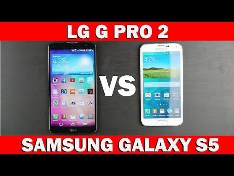 LG G Pro 2 vs Samsung Galaxy S5 Full Comparison