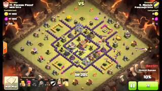 Clash of Clans TH8 vs TH8 - HoLo (Hogs / Balloons)