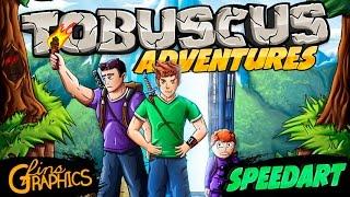 Tobuscus Adventures Poster - SpeedART