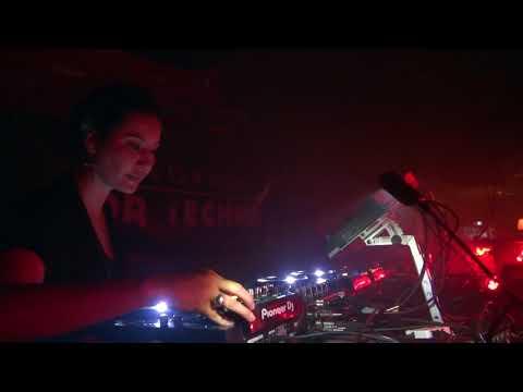 Techno: Videoset Fernanda Martins @ Lehmann Club Stuttgart DE (1hr)  - DEC/2017