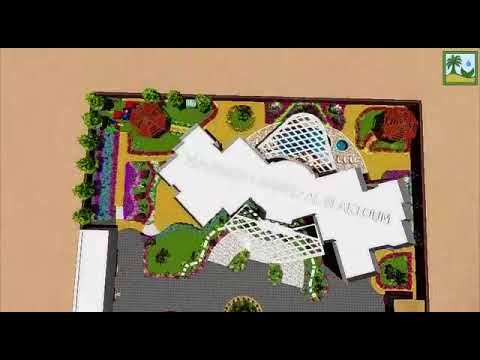 Landscape design for sheikh villa