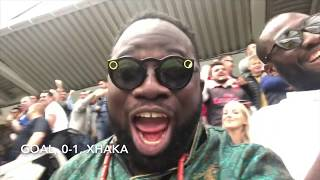 Newcastle 1-2 Arsenal | They Were No Match For Us In The Second Half | MatchDay Vlog