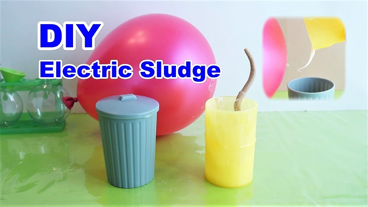 Diy electric sludge kids scientific experiment static electricity youtube - Remove static energy ...