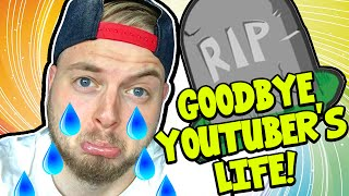 GOODBYE YOUTUBE?! - YOUTUBERS LIFE! #6 - | Gameplay |