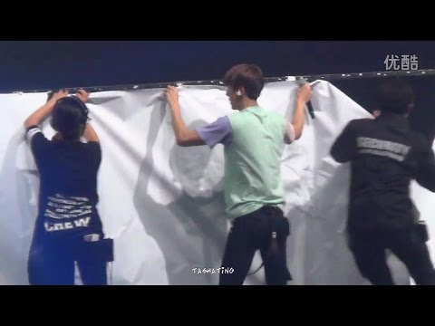 151121 EXO'luXion in Macau ✪  Lucky《 Paper break 》5 ♥ 세훈 sehun 。EXO