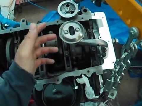 98 Eclipse GS 2 0Liter 420A Non-Turbo Rebuild Engine Block Part 1