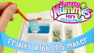 Yummy Nummies Fruity Ribbons Maker - DIY Kids Cooking - Make Your Own Candy!
