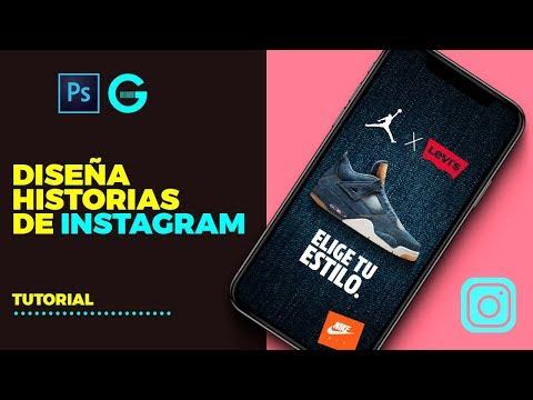 Photoshop Tutorial | Diseña Historias de Instagram | How to Design Instagram Stories thumbnail