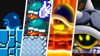 Evolution of Buzzy Beetle in Super Mario Games (1985 - 2019)
