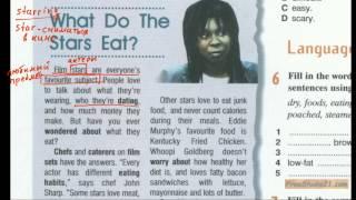 Enterprise 2 | SB | Unit 6 | чтение и разбор текста What Do the Stars Eat -1