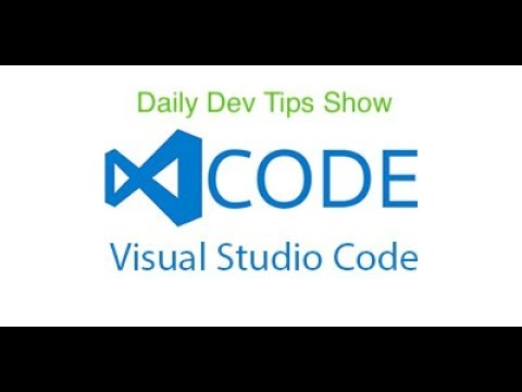 Daily Dev Tips  – Visual Studio Code –  how to do Fold/Unfold nicely