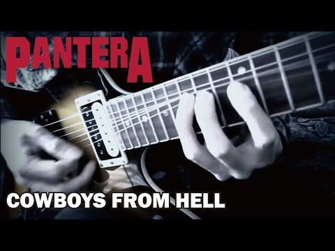 Pantera / Dimebag Darrell - Cowboys From Hell  : by Gaku