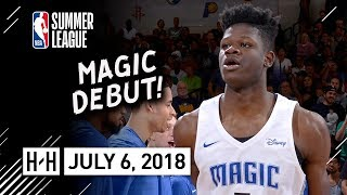 Mohamed Bamba Full Magic Debut Highlights vs Nets (2018.07.06) Summer League - 11 Pts, 7 Reb