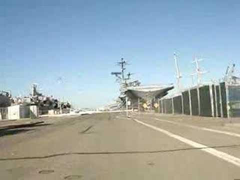 USS Hornet, Alameda Point Naval Air Base, CA