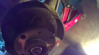1. Колодки заднего тормоза колес Lada kalina